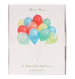 Meri Meri Beautiful Balloons Multi Set of 12