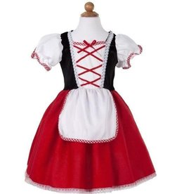 Great Pretenders Little Red Riding Hood Tea Party Dress, Size 5-6