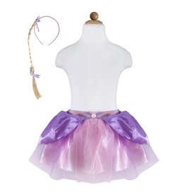 Great Pretenders Rapunzel Skirt With Braid, Size 4-6