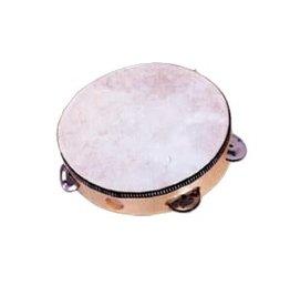 Mano Percussion Mano Tambourine - 6 Jingle w/ Head