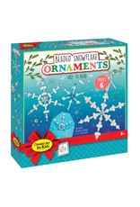 Creativity for Kids Beaded Snowflakes Ornaments