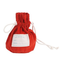 Moulin Roty Bag of Marbles  Red