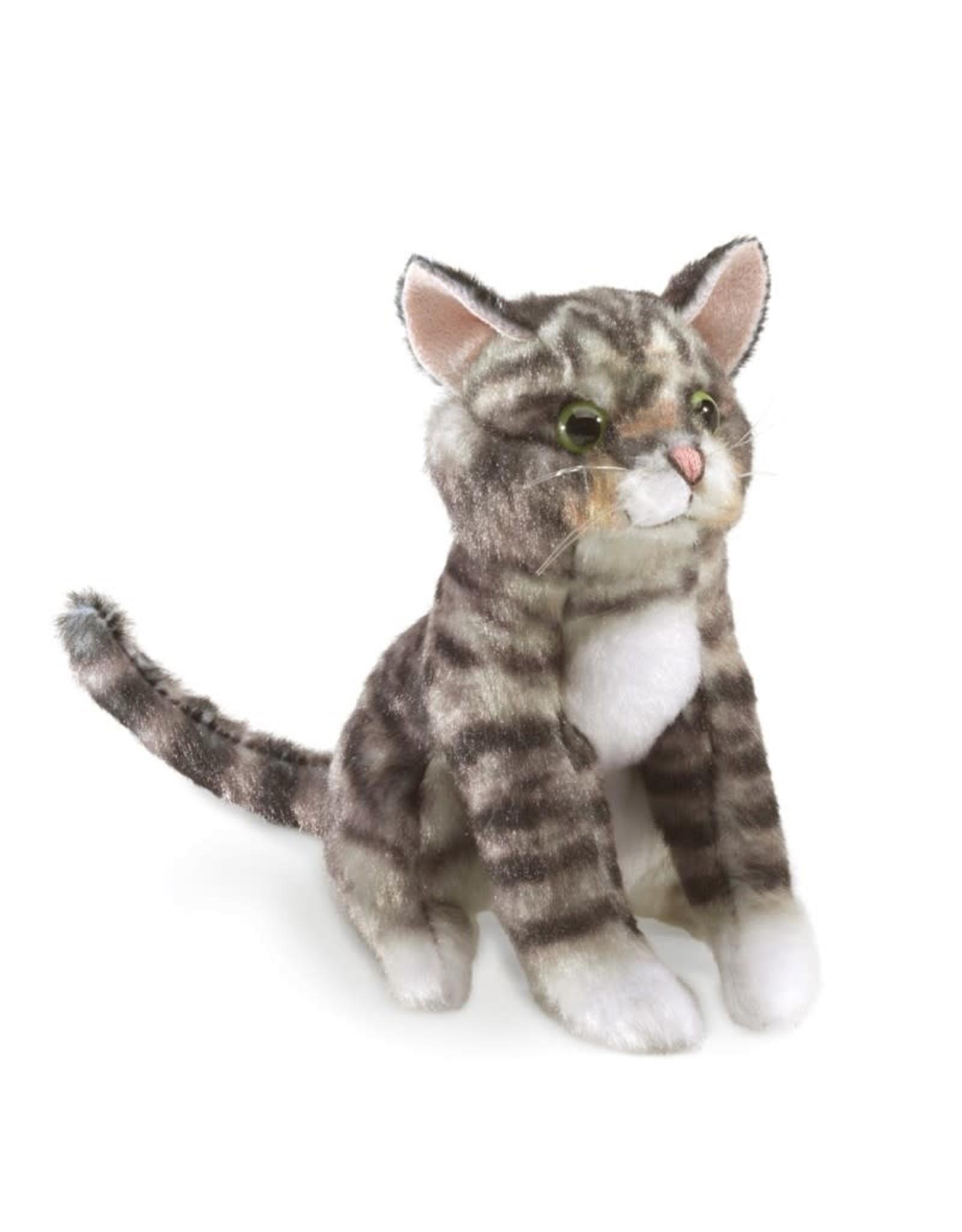 Folkmanis Puppets Mini Tabby Cat