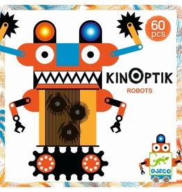 Djeco Kinoptik Robots - 60 Pcs