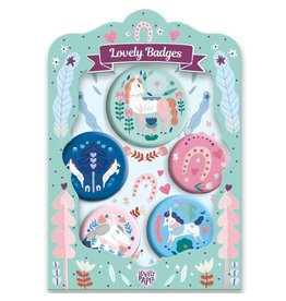 Djeco Horses Lovely Badges