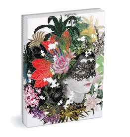 Galison Christian Lacroix Heritage Collection Mamzelle Scarlet 750 Piece Shaped Puzzle