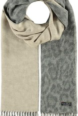 FRAAS Two Tone Leo Woven Cashmink Scarf
