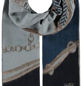 FRAAS Equestrian Patchwork Oversized Cashmink®  Scarf