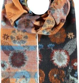 FRAAS Pressed Floral Woven Cashmink®  Scarf