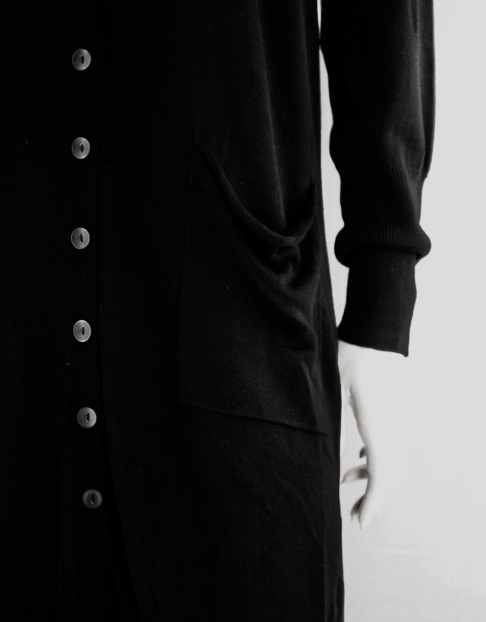 Black Tape Duster Cardigan