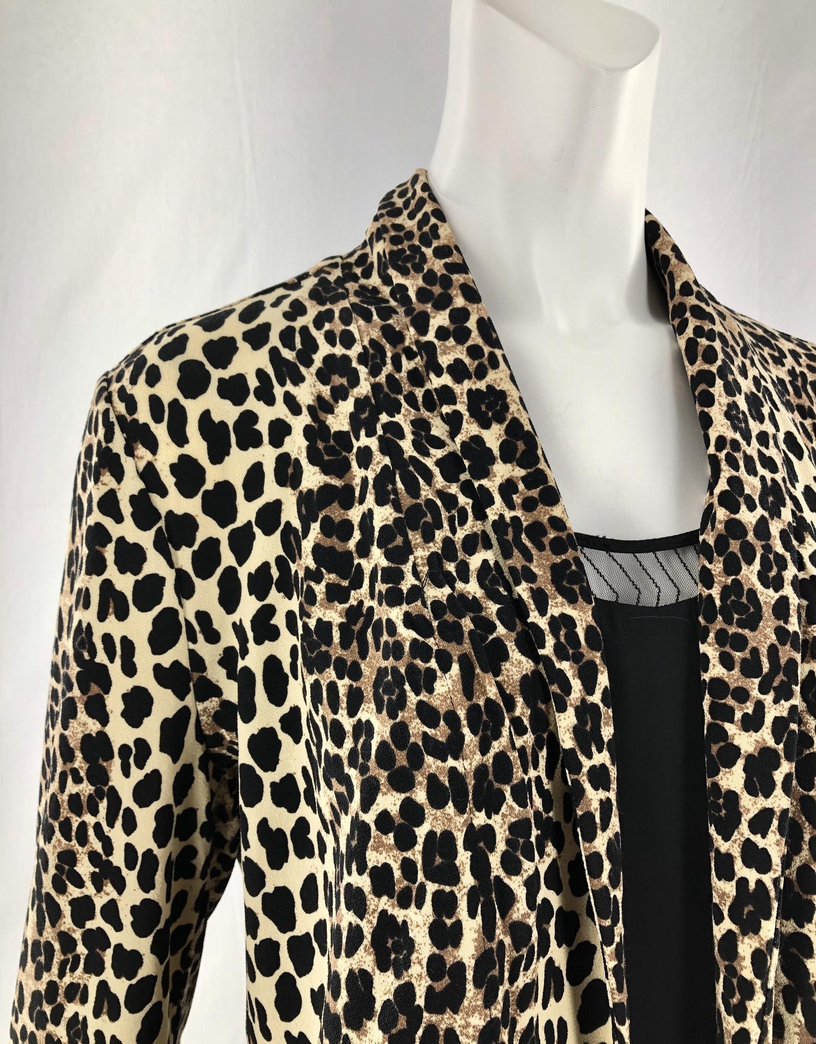 Dex CLEARANCE: Leopard Blazer