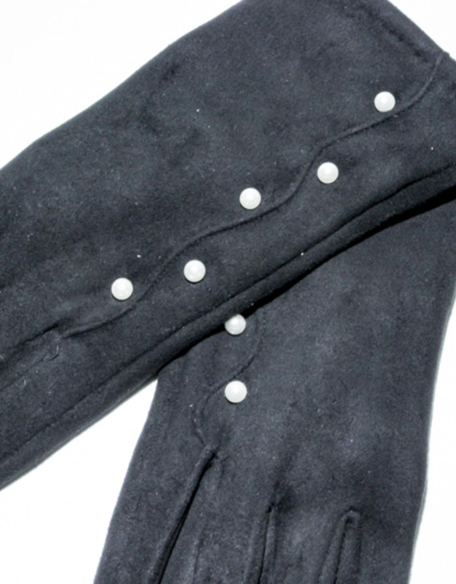 Venera Seta Suede Pearl Gloves