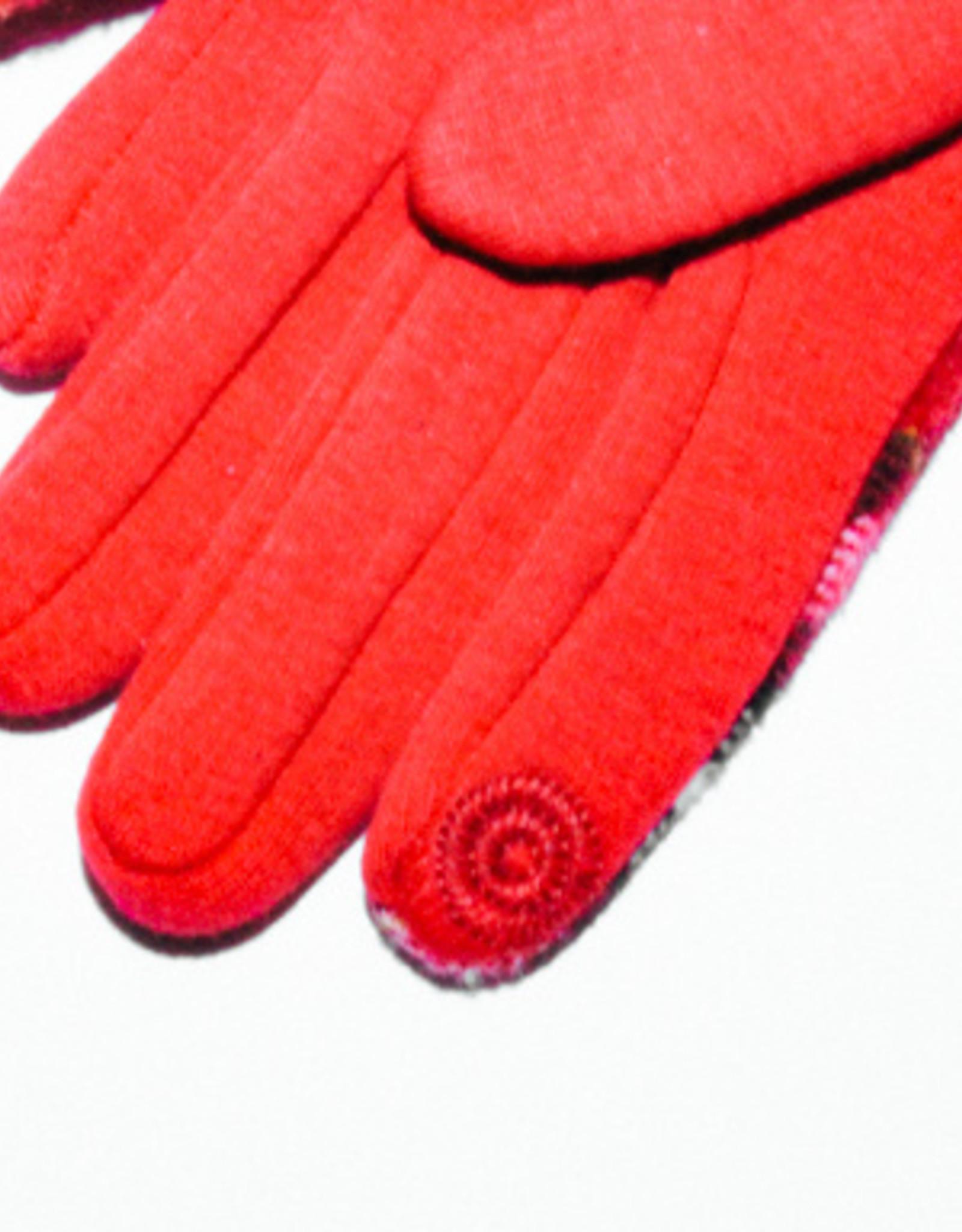 Venera Seta Plaid Gloves