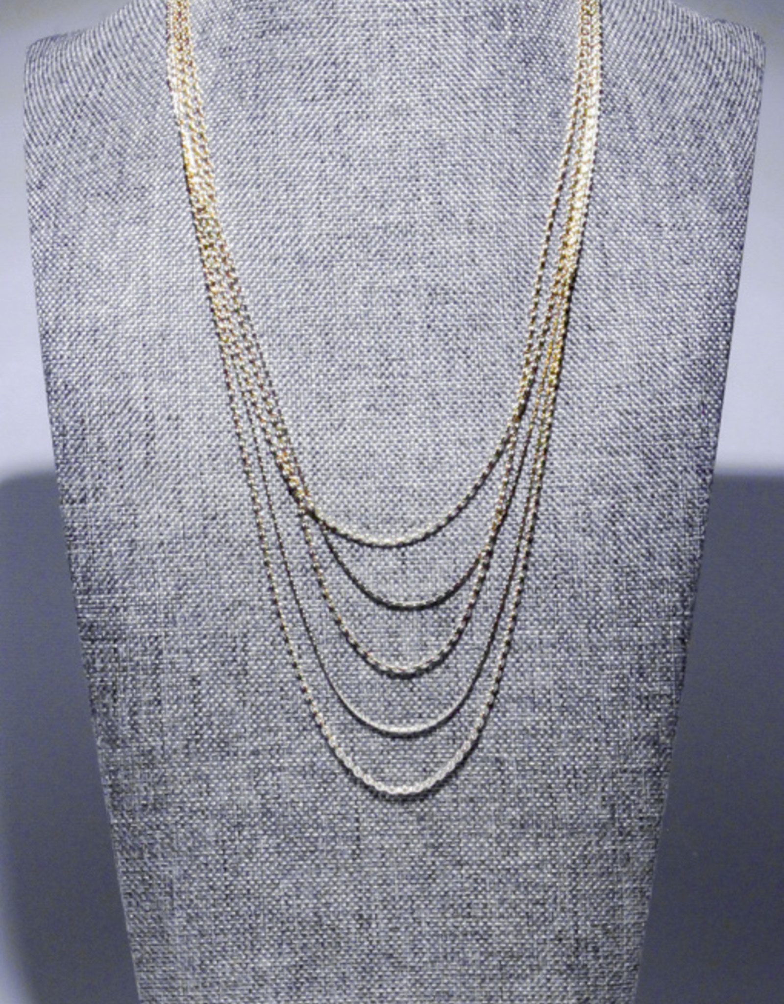 Garbo Layered Chain Necklace