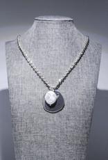 MERX Jewelry Fresh Water Pearl Long Pendant Necklace