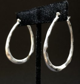 Garbo Oval Hoops