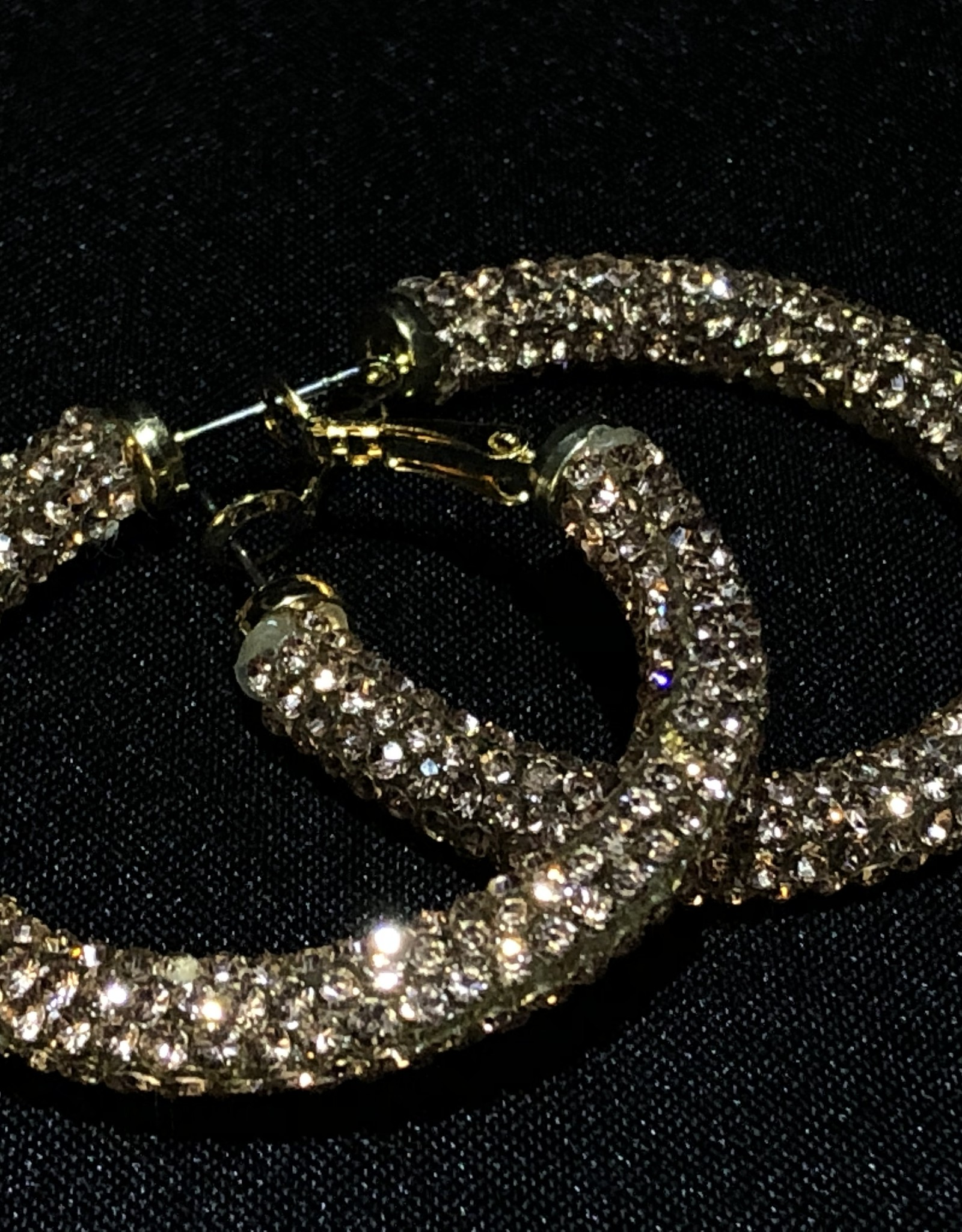 Garbo Bling Hoops