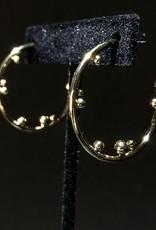 MERX Jewelry Ball Hoops