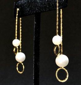 Jackie J Dangling Pearls