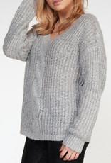 Dex V-neck Cable Pullover