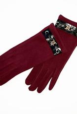 Venera Seta Suede Buckle Gloves
