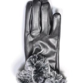 Venera Seta Faux Fur Gloves