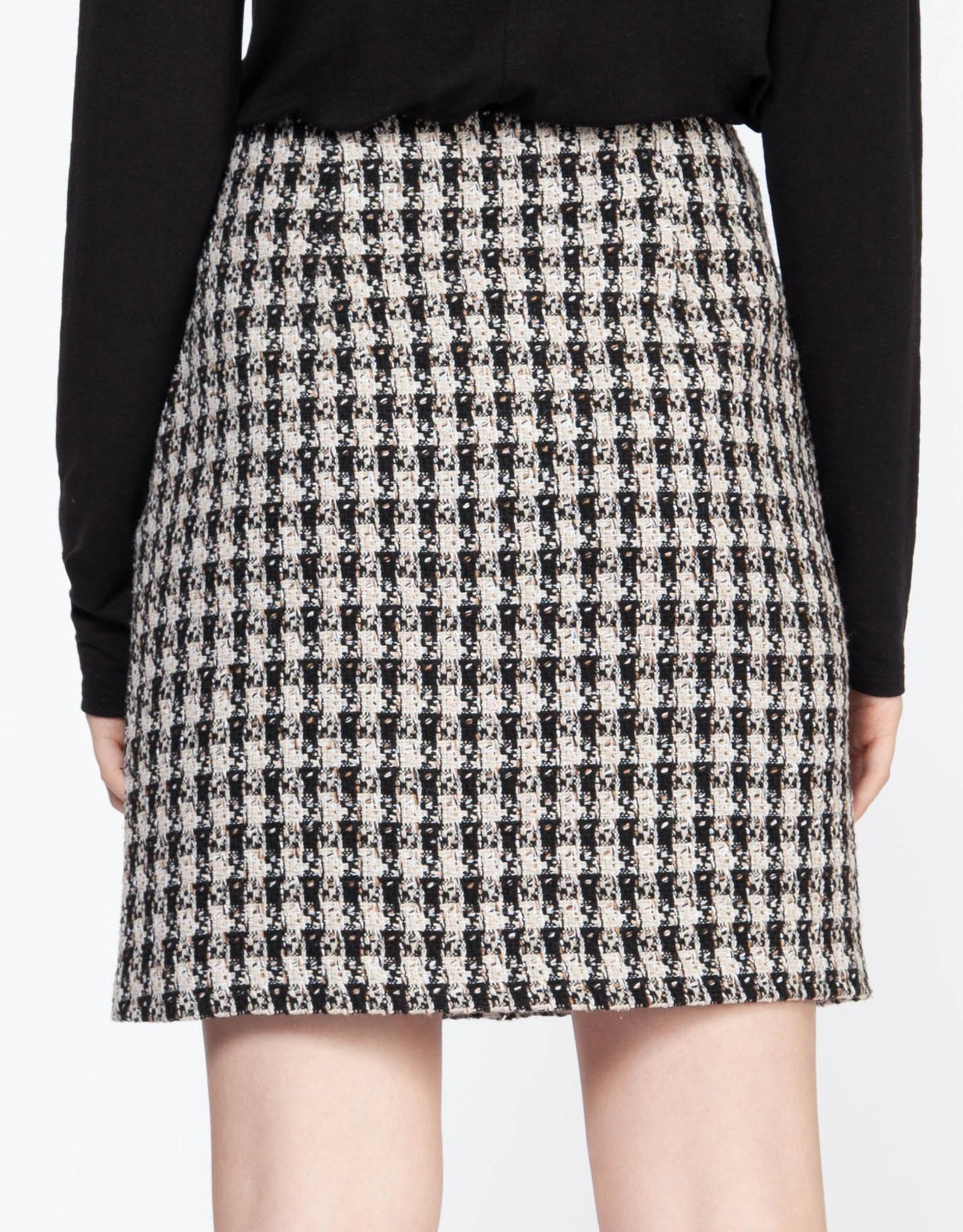 Dex CLEARANCE: Tweed Mini Skirt