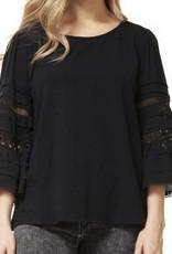 Dex CLEARANCE: Bell Sleeve Scoop Neck Top