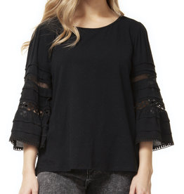 Dex CLEARANCE: Bell Sleeve Scoop Neck Top