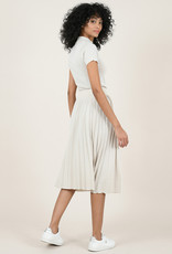 Molly Bracken CLEARANCE: Metallic Knit Pleated Skirt
