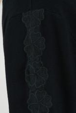 Molly Bracken Floral Applique Cardigan