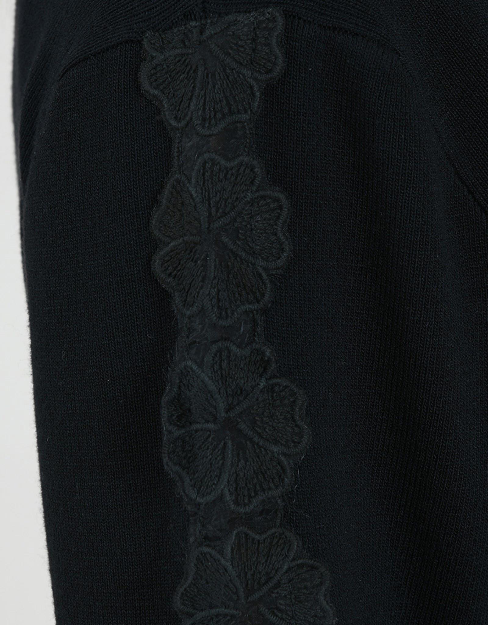 Molly Bracken CLEARANCE: Floral Applique Cardigan