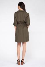 Dex CLEARANCE: Tencel Utility Shirt Dress