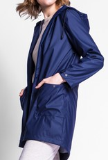 Pink Martini Rain Jacket With Patch Pockets