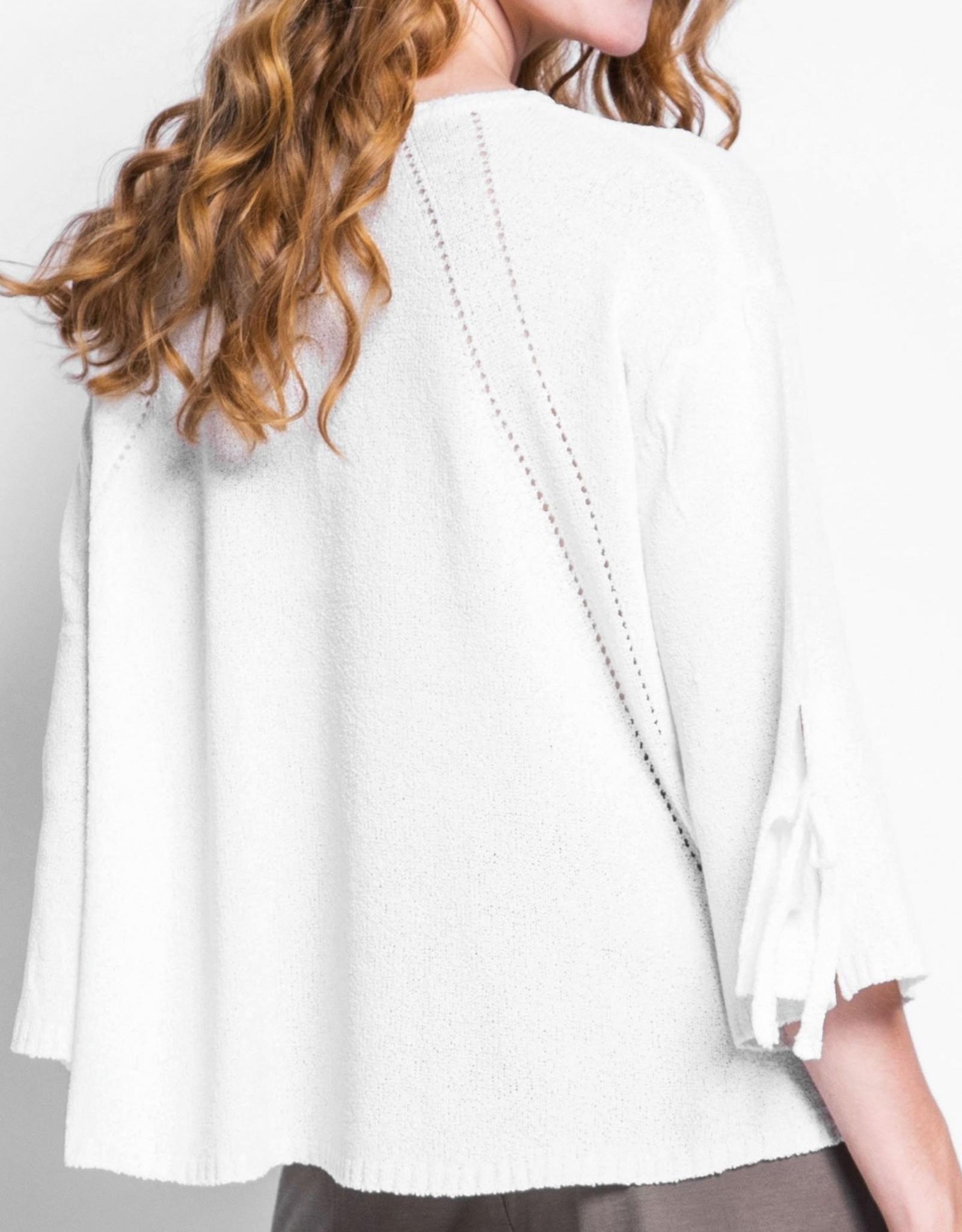 Pink Martini CLEARANCE: Boho Bell Sleeve Sweater