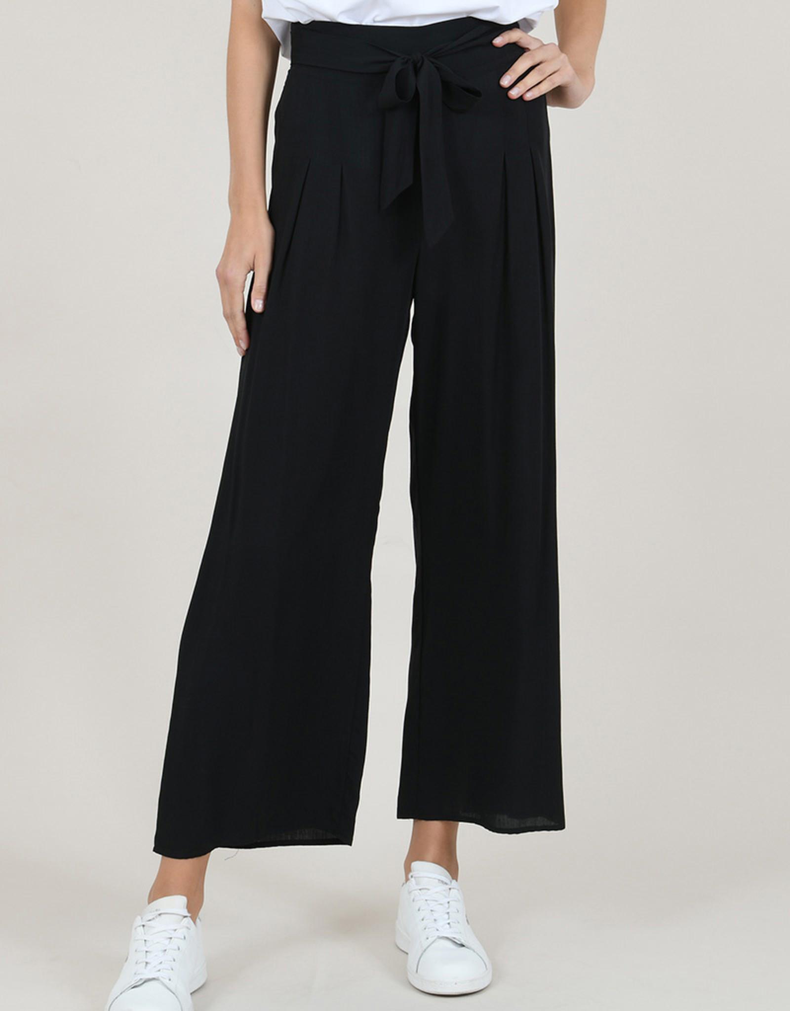 Molly Bracken CLEARANCE: High Waist Wide-Leg Pant