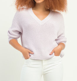Dex V-Neck Textured Sweater