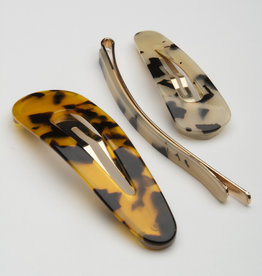 Garbo 3-Pack Hair Clips