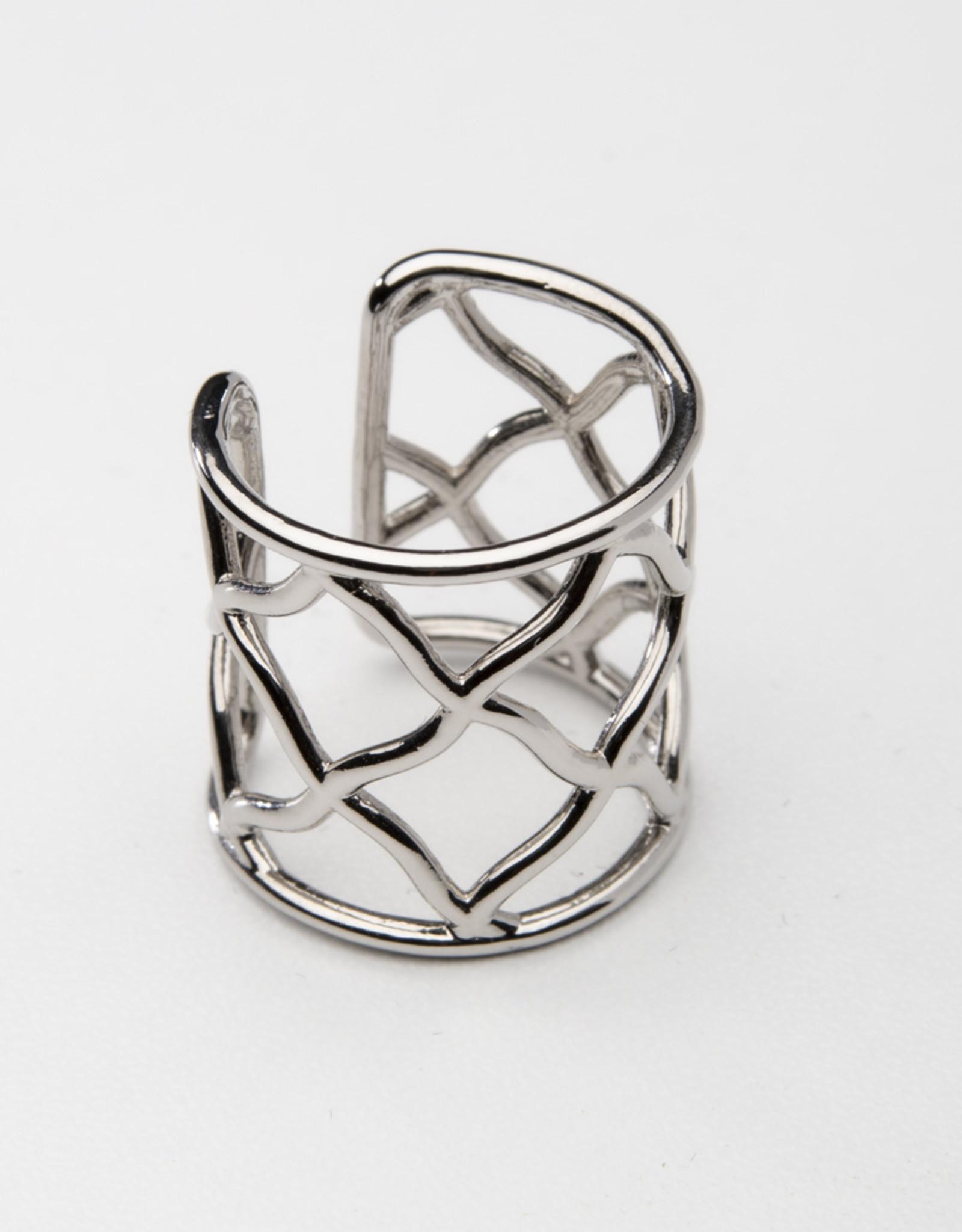 MERX Jewelry Wide Band Statement Ring
