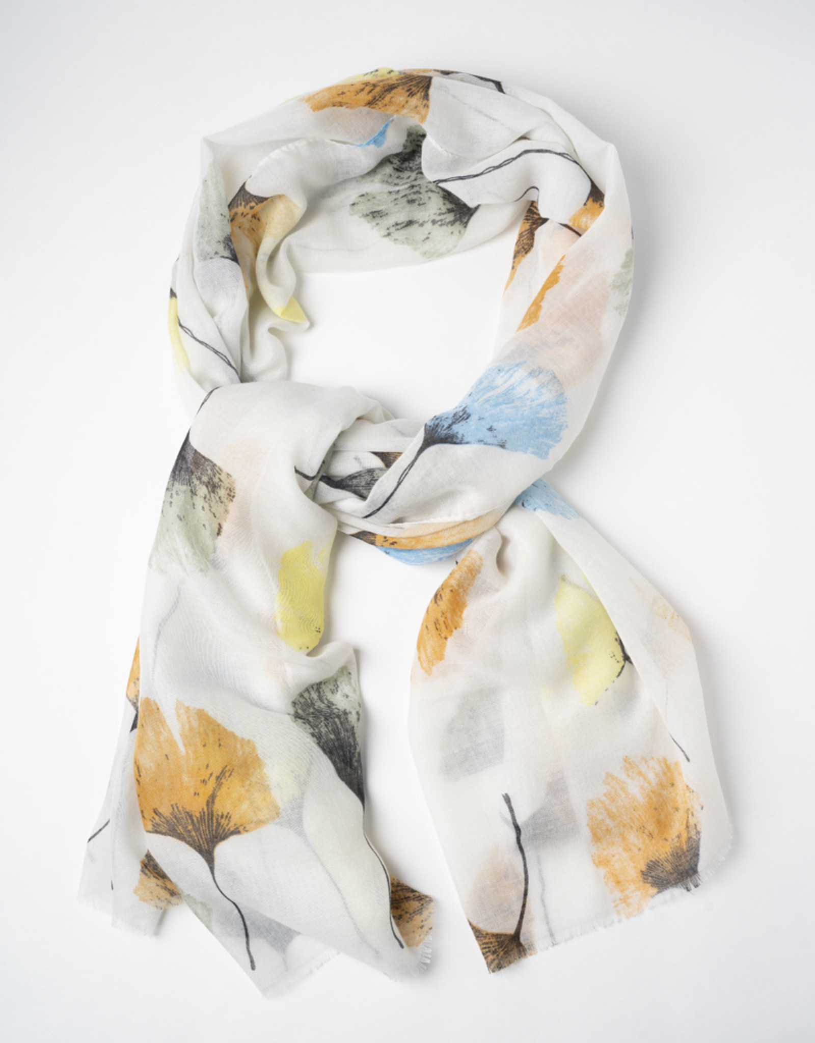 Only Accessories Abstract Floral Print Oversize Scarf