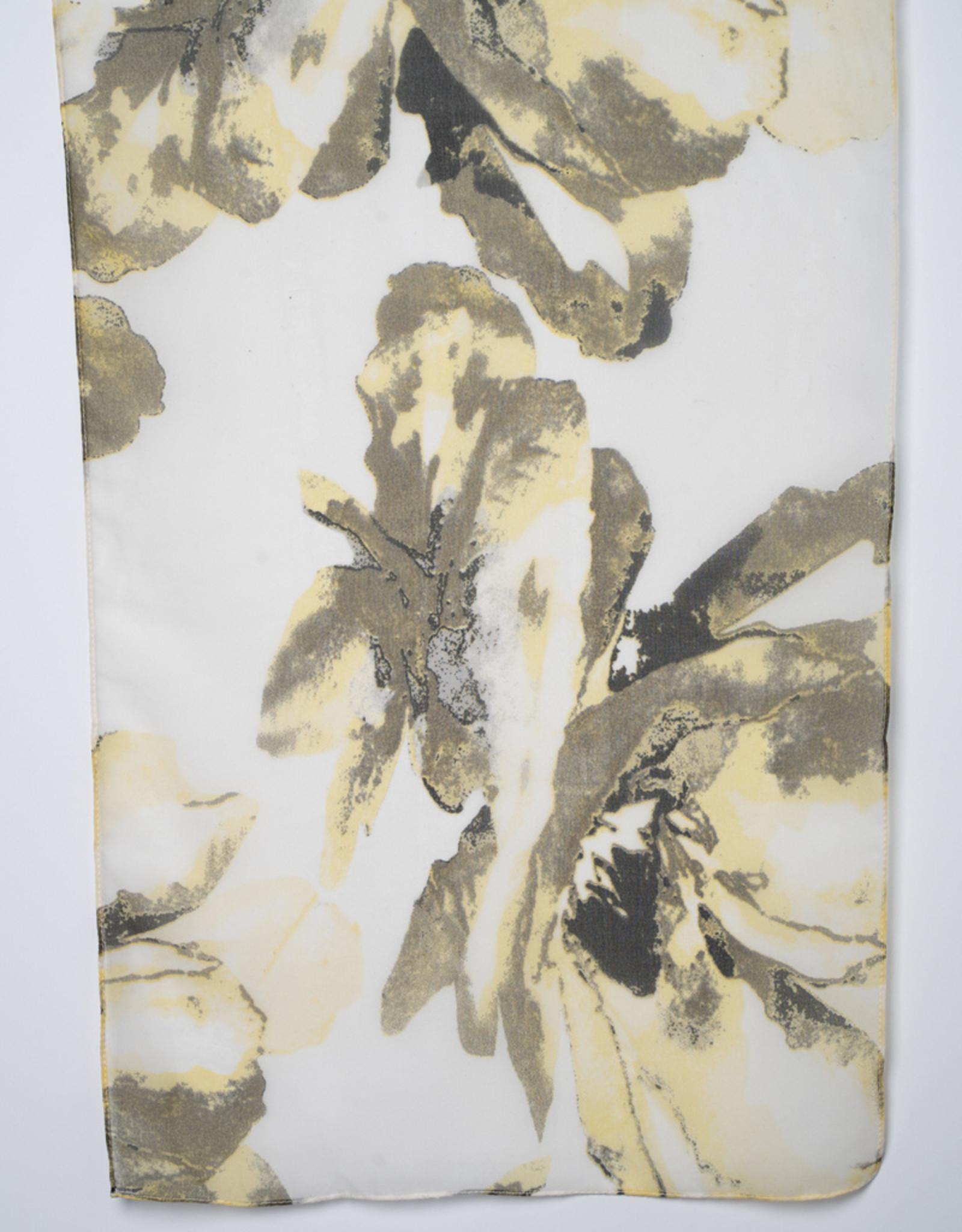 Garbo Soft Meadow Print Scarf