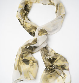 Garbo Soft Meadow Print Scarf