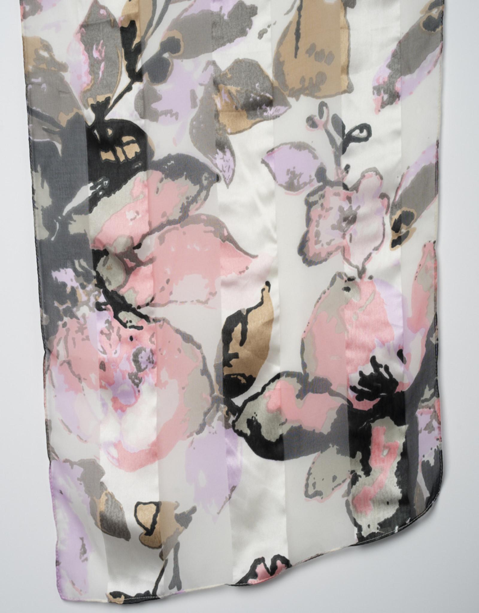 Garbo Blossom Print Scarf