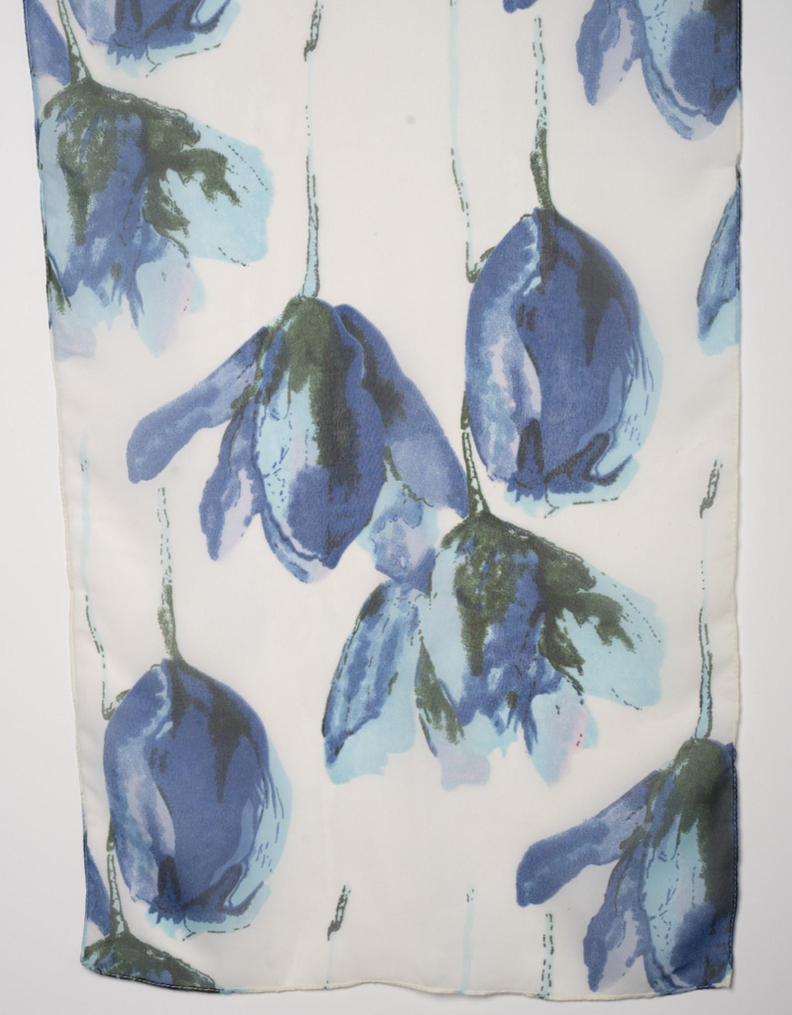 Garbo Bloom Print Scarf