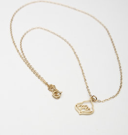 Dana Henning Moroccan Lotus Pendant Necklace
