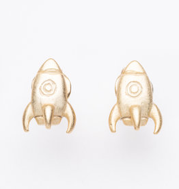 Dana Henning Rocket Ship Studs