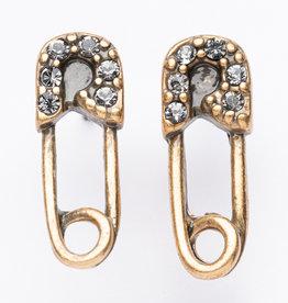 "MERX Jewelry A&C Safety Pink ""Diamond"" Studs"