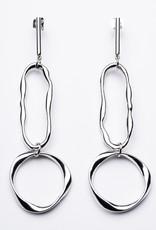 Statement Grey Arlo Earrings
