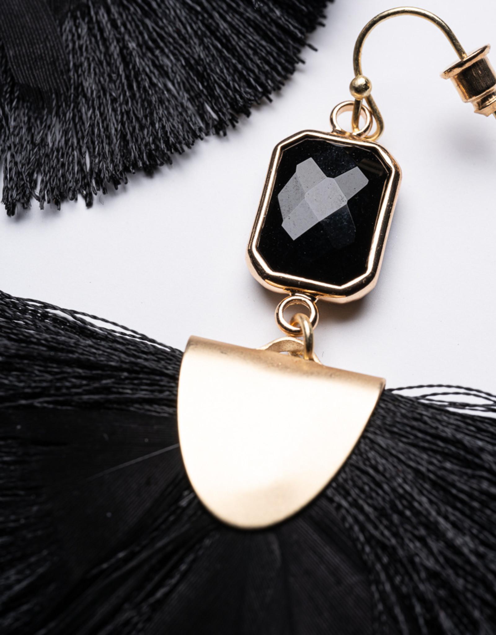 Garbo Tassel Drop Earrings