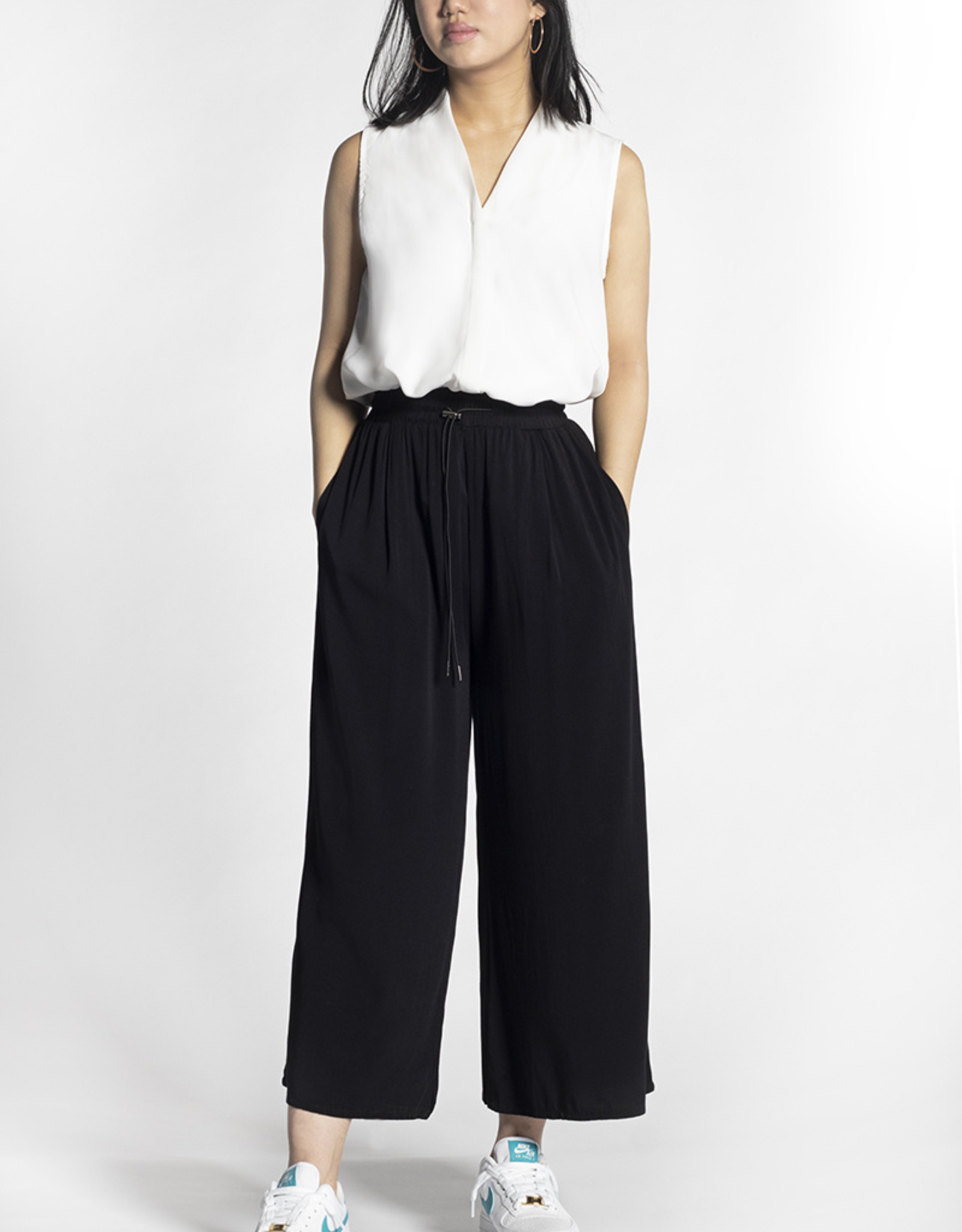RD Style Pull-on Culotte Pant